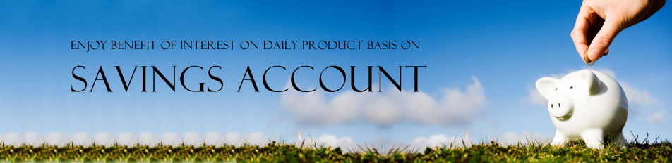 Enjoy benefit of interest on daily product basis on Savings Account